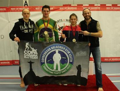 Vsetínští bojovníci brazilského jiu jitsu dovezli dvě zlaté z Pardubic