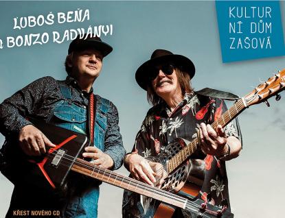 Bluesový večer v Zašové: Beňa a Radvanyi & Hot Tamales Trio
