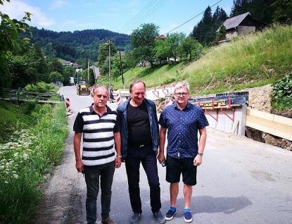 Náměstek hejtmana Pavel Botek kontroloval silniční stavby