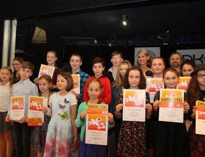 Výsledky soutěžní přehlídky v uměleckém přednesu  Chrám i tvrz
