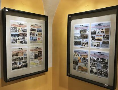 Městská knihovna hostí výstavu Významné osmičky včeských dějinách 20. století