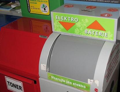 Obyvatelé Zlínského kraje vedou vtřídění vysloužilého elektra