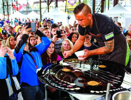 Garden Food Festival oživí městský park vRožnově. Potkejte špičkové kuchaře a objevte netradiční chutě a vůně