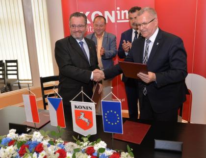 Novým partnerským městem Valašského Meziříčí je polský Konin