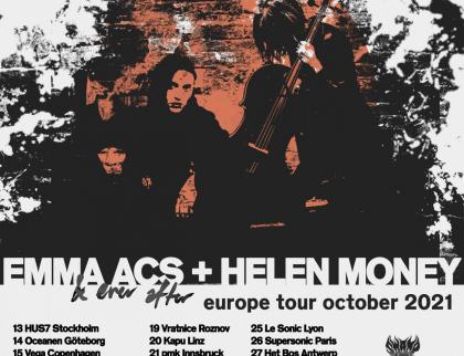 Vrátnice: Helen Money (USA) a Emma Acs (DK)
