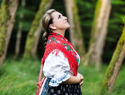 Cimbálová muzika Valašsko a Marta Santovjáková Gerlíková