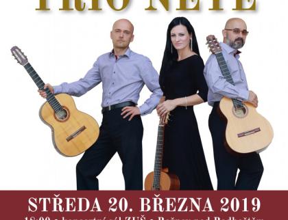 Kytarové Trio Nété vystoupí v Rožnově