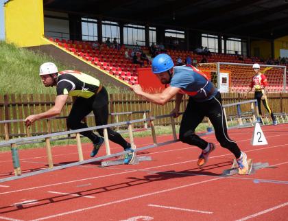 Valašské Meziříčí hostilo krajské kolo vhasičském sportu
