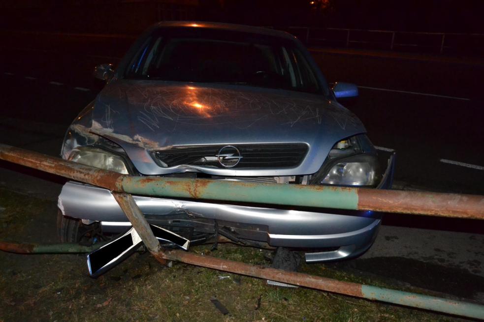 Žena po nehodě nadýchala přes tři promile