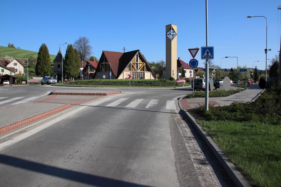 Při nedělní nehodě v Horní Lidči utrpěla cyklistka těžké zranění