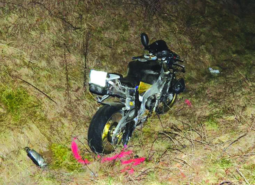 Během hodiny došlo v Zašové ke dvěma nehodám s motorkářem