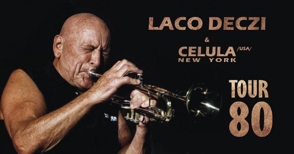 V rámci Tour 80 zahraje legendární Laco Déczi na Vsetíně