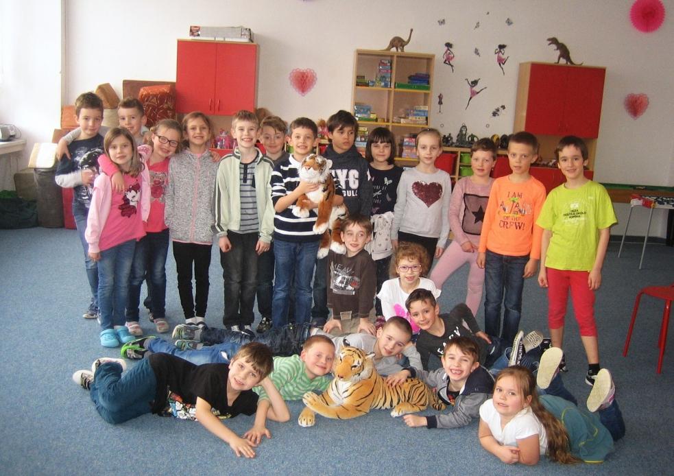 Žáci ZŠ Vyhlídka zachraňují tygra
