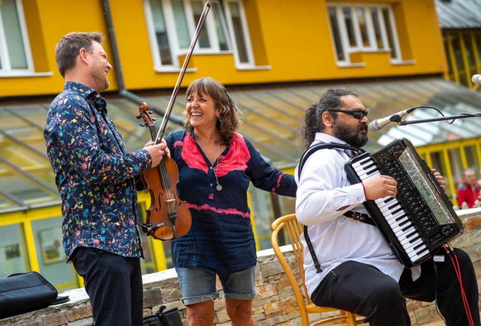 Hudební festival Hlasy počtvrté na rožnovské Stráni
