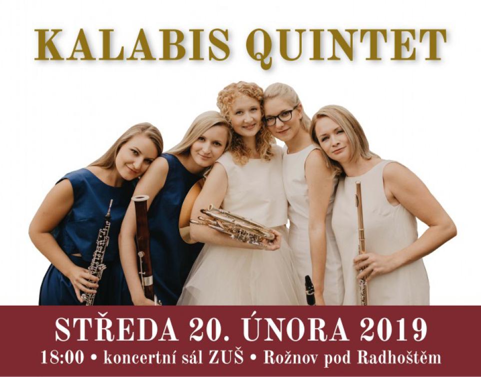 Do Rožnova míří Kalabis qvintet