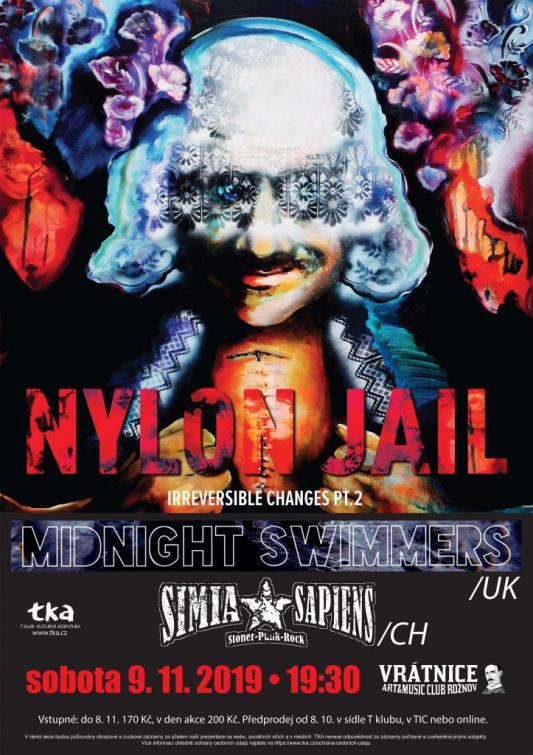 Nylon Jail, Midnight Swimmers a Simia Sapiens v rožnovské Vrátnici