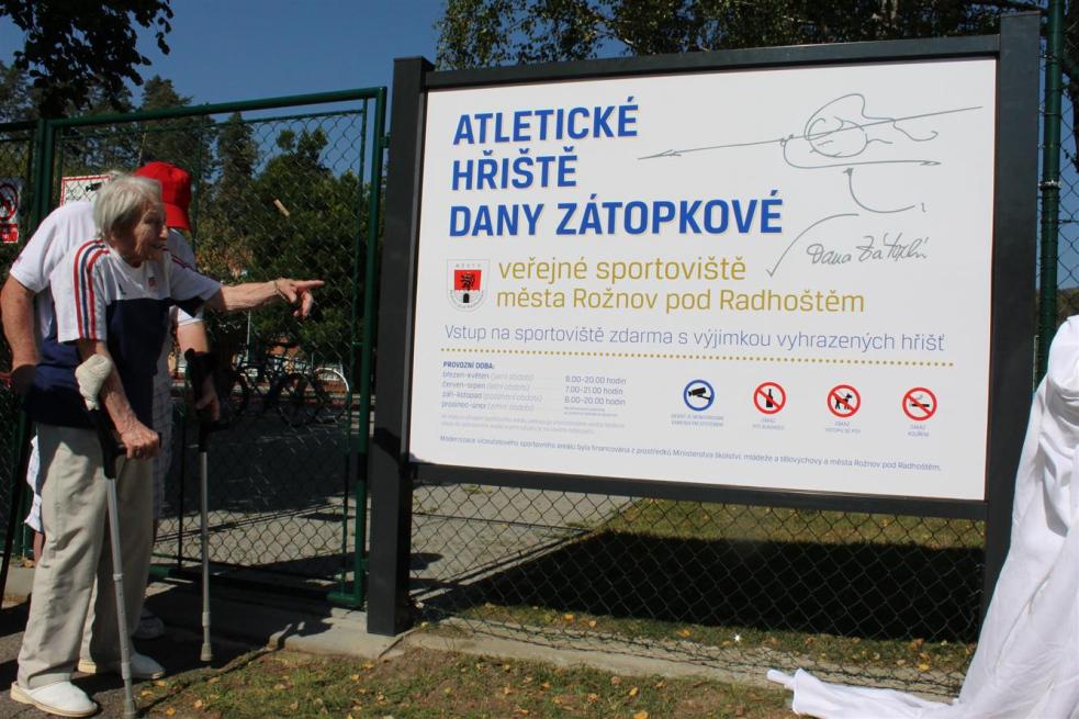 Hřiště Dany Zátopkové zahájilo sezonu