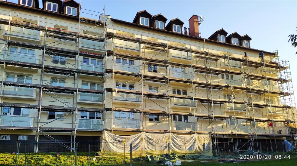 V Rožnově zrekonstruovali další bytový dům na ulici Kulturní