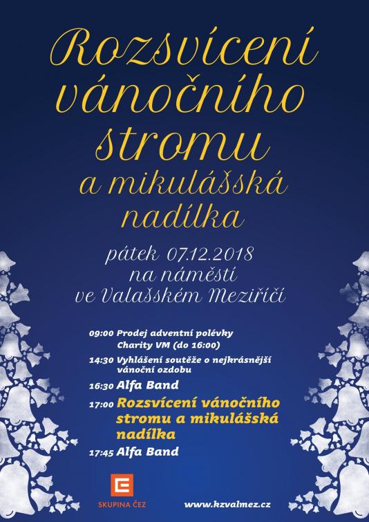 Vánoce ve Valmezu začínají