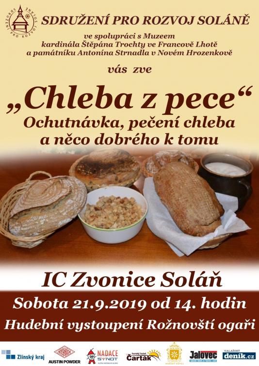 "Akce ""Chleba z pece"" aneb na Soláni se bude péct chleba"