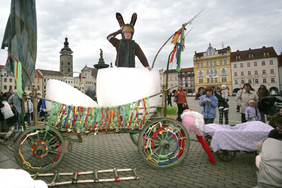 Vsetínské Dolní náměstí opět ožije Valašskými Velikonocemi
