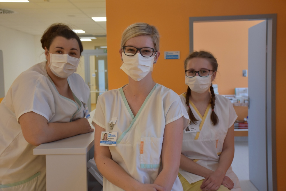 Žlutá stanice Vsetínské nemocnice pečovala o šest desítek pacientů s podezřením na koronavirus