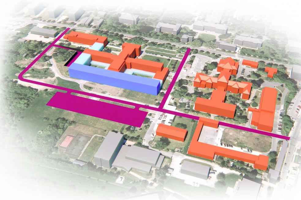 VKroměřížské nemocnici se chystá projekt za více než 1 miliardu