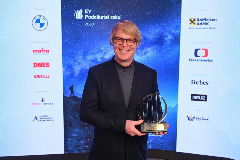 Titul EY Podnikatel roku 2020 Zlínského kraje získal majitel bílovické firmy mmcité 1 David Karásek