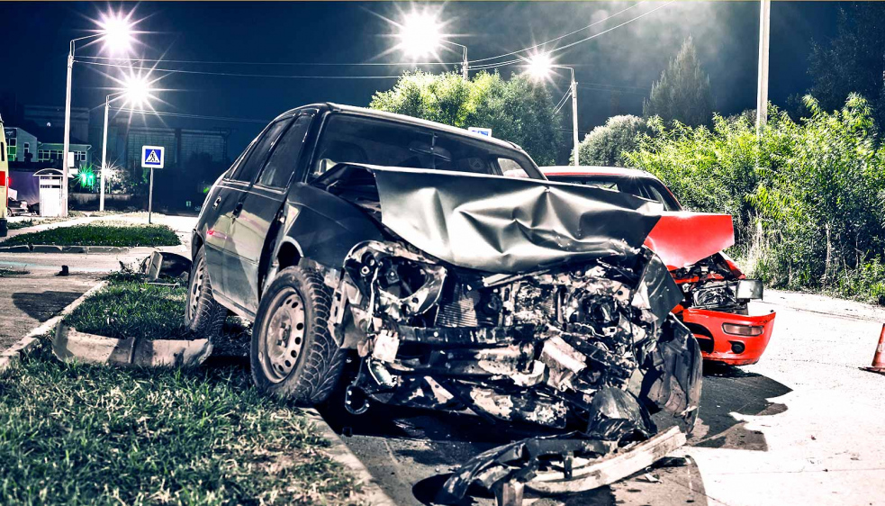 Vážní dopravní nehoda u obce Lidečko. Jeden z řidičů zemřel