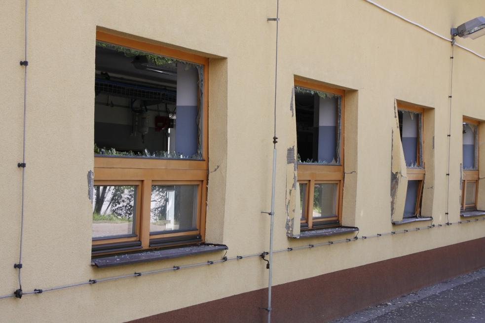 Výbuch v Jablůnce poranil čtyři zaměstnance