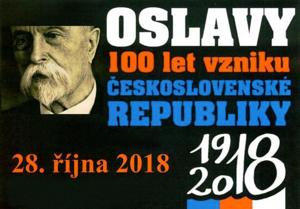 Rožnov slaví sto let republiky, bude koncert na náměstí i svíčkové překvapení