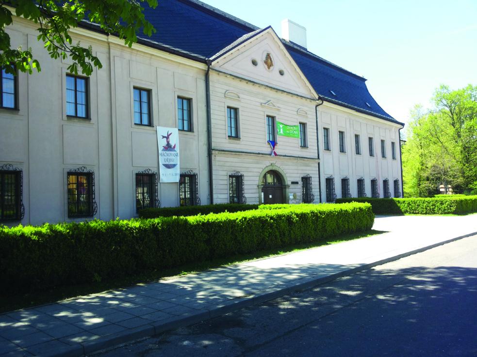 Zlínský kraj získal dotaci 73 milionů pro zámek Kinských