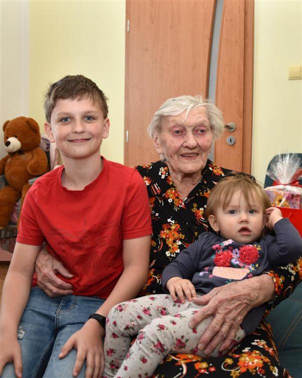 Růžena Malinová z Valašského Meziříčí má krásných 103 let