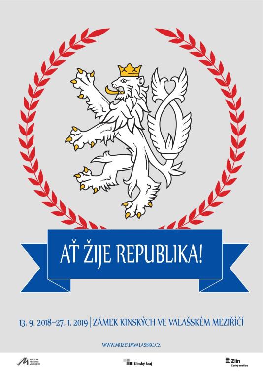 Muzeum regionu Valašsko pořádá výstavu k100. výročí založení Československé republiky