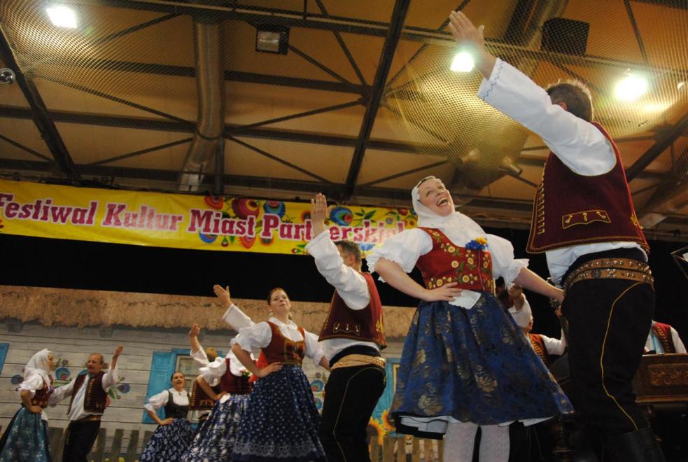 Bačovci nadchli v Polsku šnel polkou, špásy a pytlovým