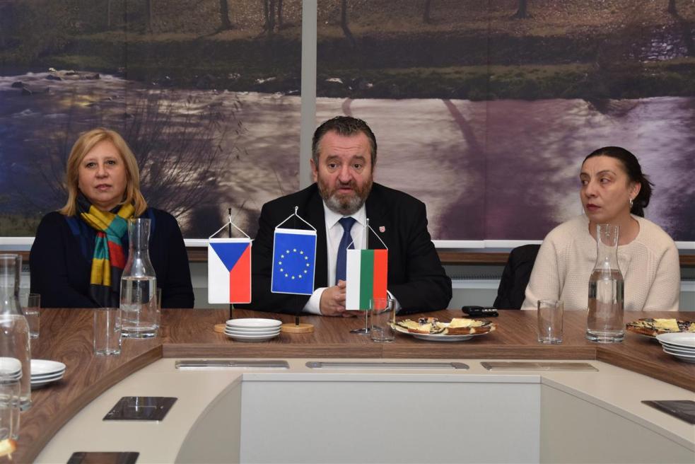 Starosta Stržínek přijal delegaci zpartnerského Balčiku