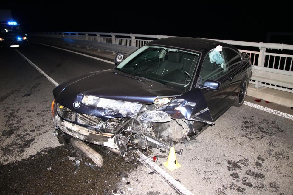Řidič havaroval u Vsetína. Měl přes tři promile