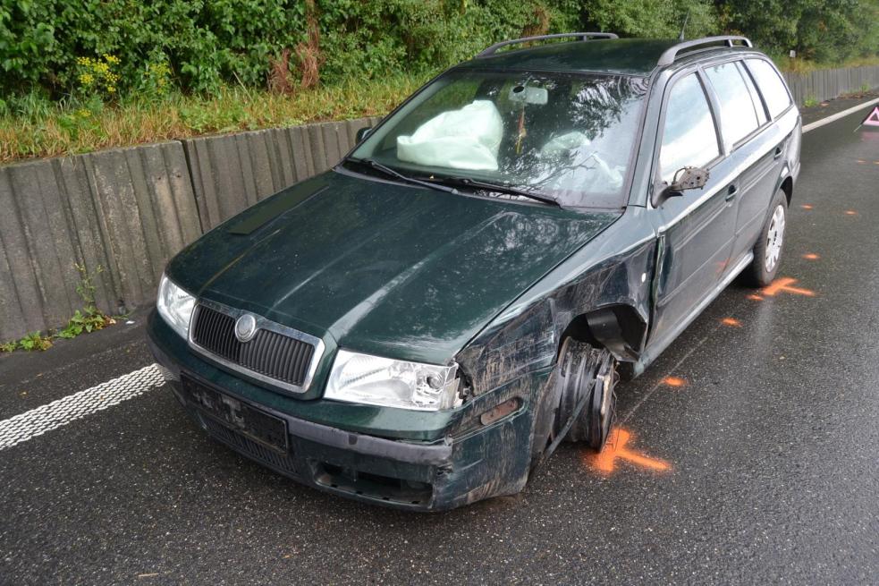 U obce Jablůnka došlo ke střetu dvou osobních aut