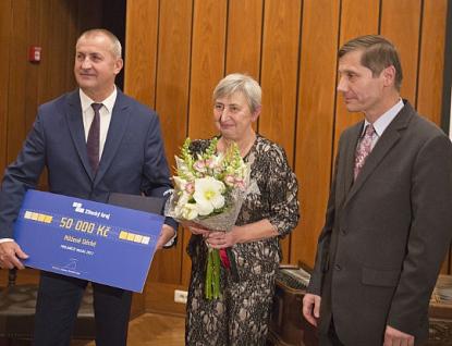 Nositelkou ceny PRO AMICIS MUSAE 2017 je Růžena Děcká