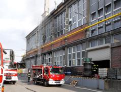 Požár haly v Zubří. Škoda přes 20 milionů