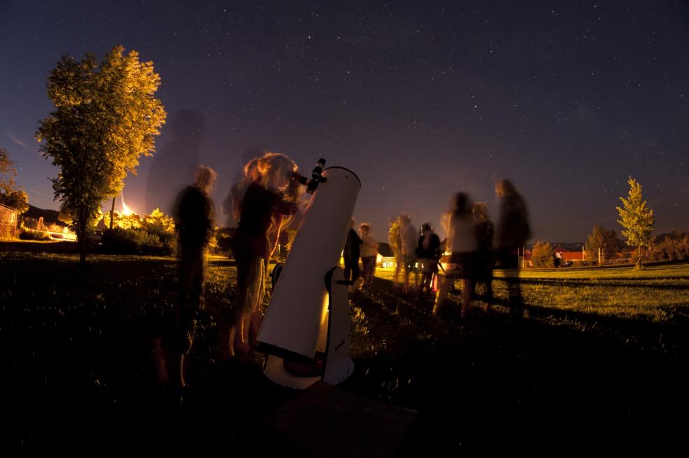Astronomové na cestách za publikem