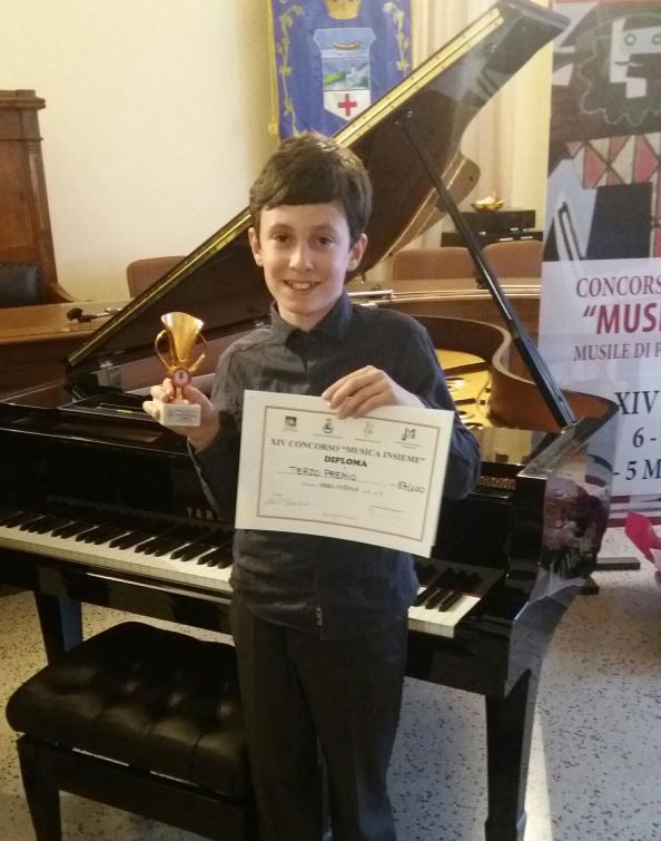 Klavírní naděje na soutěži vItálii