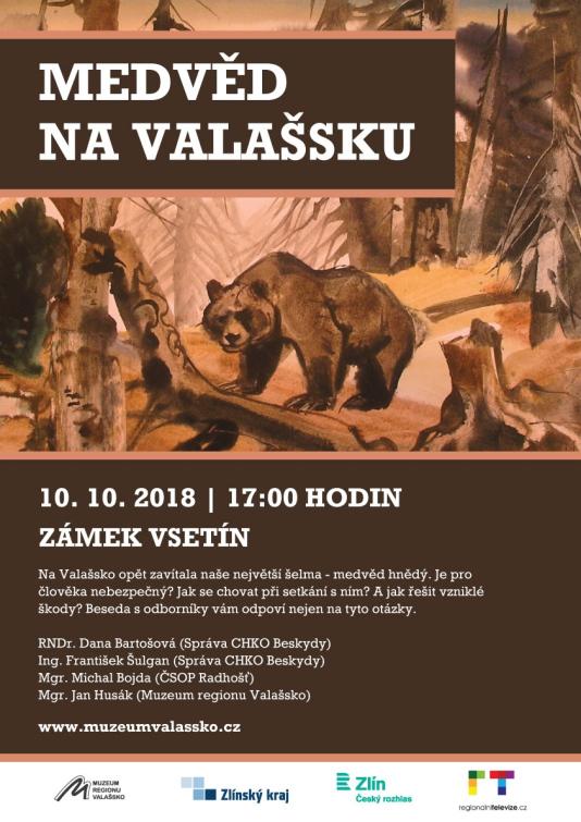 Přednáška  o medvědu hnědém