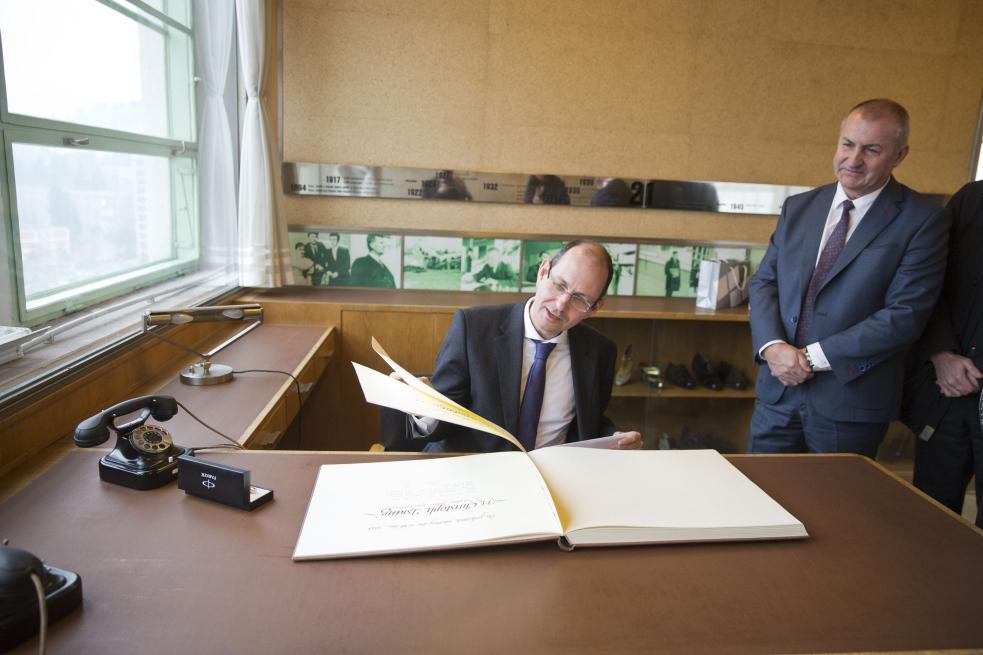 Zlínský kraj navštívil německý velvyslanec