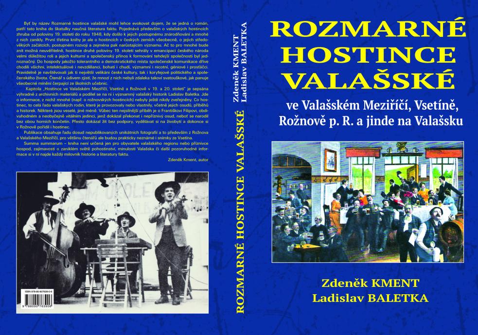 Kniha Rozmarné hostince valašské obdržela literární cenu za rok 2020