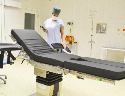 Valašskomeziříčská nemocnice získala špičkový operační stůl