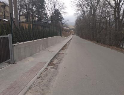 Město zahájí poslední etapu chodníku vPodlesí