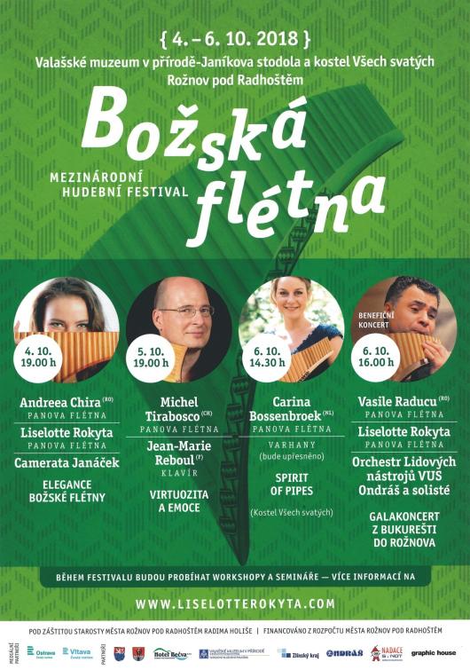 """Festival """"Božských fléten"""" podruhé v muzeu"""