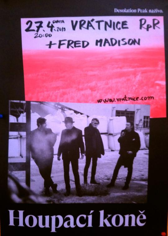 Sobota v rožnovské  Vrátnici: Houpací koně a Fred Madison