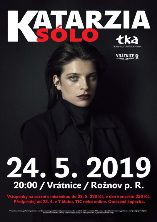 Katarína Kubošiová alias Katrzia sólo ve Vrátnici